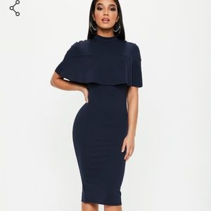 New🔥 Navy blue missguided dress
